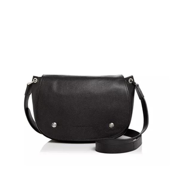 NWOT Longchamp Le Foulonne Crossbody Saddle Bag